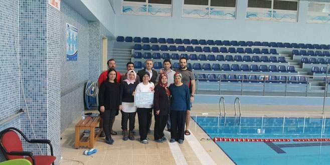 Gemlik'e en temiz havuz sertifikası