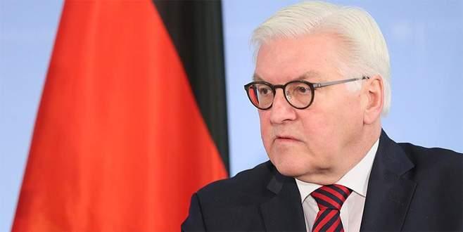 Almanya Cumhurbaşkanı'ndan 'Türkiye' açıklaması