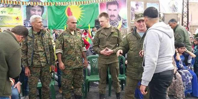 Rus generalin YPG 'sevgisi'