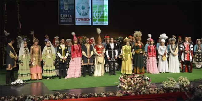 Bursa'da 'Türk Dünyası Nevruz Șenliği'