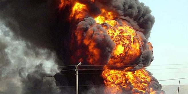 Ukrayna'nın en büyük cephaneliğinde patlama