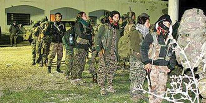 ABD YPG'yi helikopterlerle taşıdı
