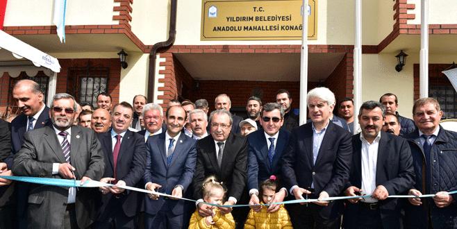 Anadolu Mahalle Konağı hizmete açıldı