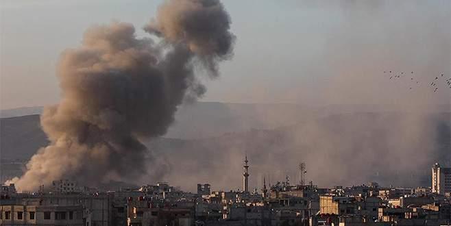 Doğu Guta'ya hava saldırısı: 10 ölü