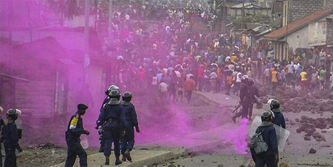 Kongo'da 40 polisin kafası kesildi