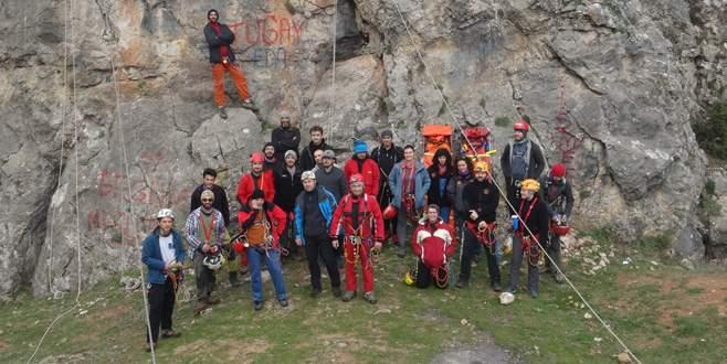 Gündoğdu'da 'mağara kurtarma çalıştayı'