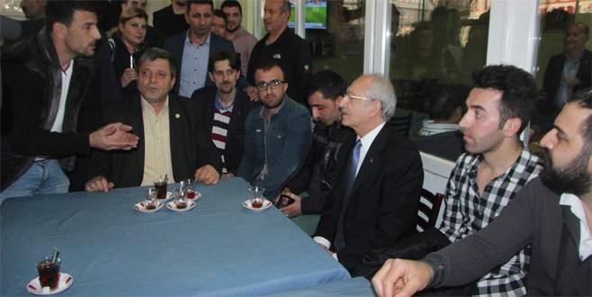 Kılıçdaroğlu'ndan Bursa'da sürpriz ziyaret