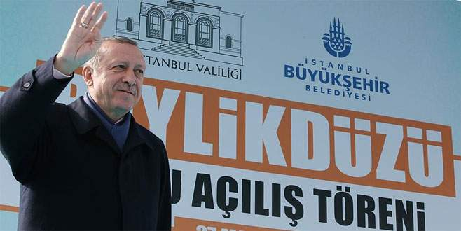 Erdoğan: 'Ya sizin her yeriniz silah olsa ne yazar?'