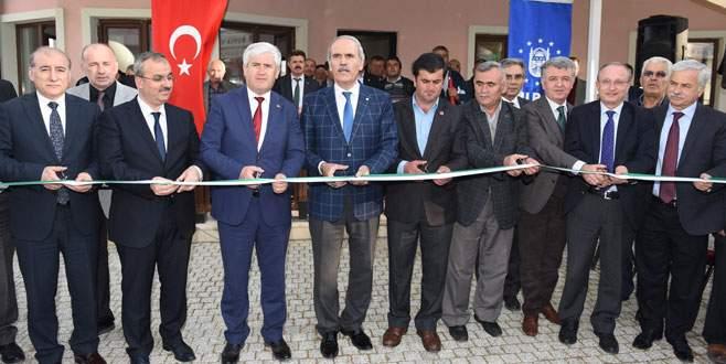 Büyükşehir'den Uzunöz'e yeni hizmet binası