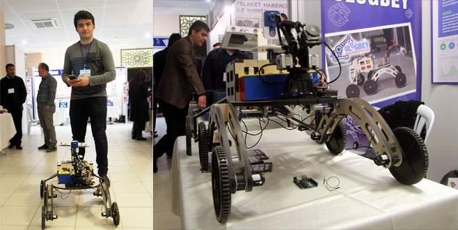 NASA'nın kullandığı robotun benzerini geliştirdi