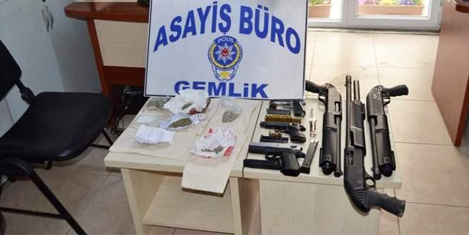 Bursa'da uyuşturucuya geçit yok