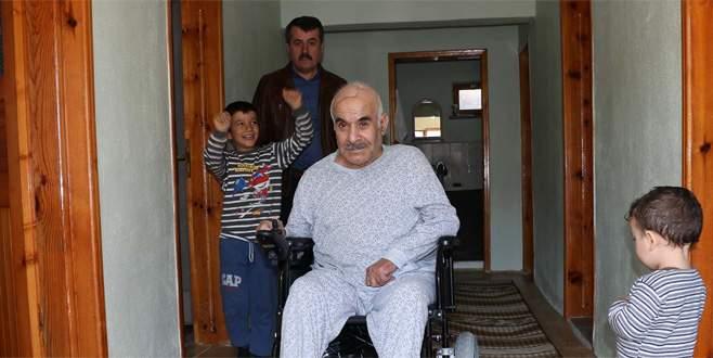 Bursalı 'minik ellerden' şehit babasını ağlatan hediye