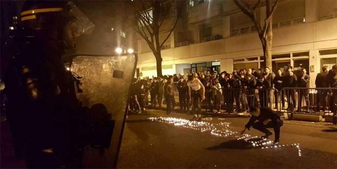 Paris'te Çinli isyanı