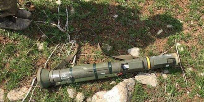 PKK'lı teröristten yeni nesil İsveç yapımı tanksavar çıktı