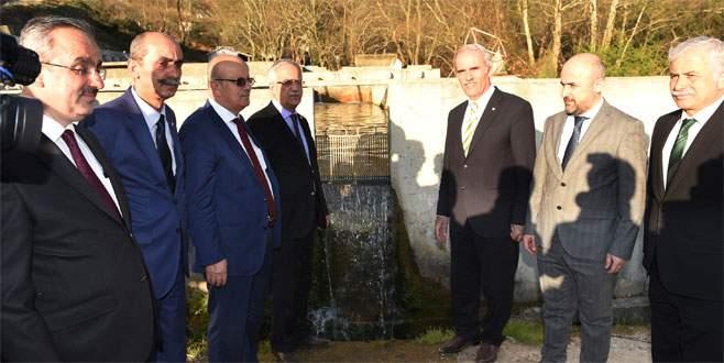Dereköy'de sulu tarım için büyük yatırım