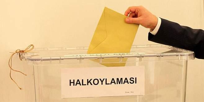 Yurtiçi seçmen sayısı 55 milyon