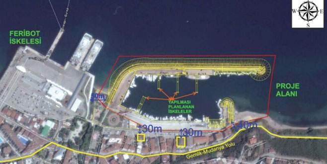 Güzelyalı'ya yat limanı