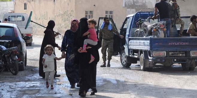 100 bin Suriyeli El Bab'a dönecek