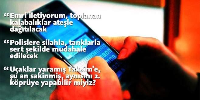 Darbe girişiminin WhatsApp yazışmaları Akıncı Üssü iddianamesinde