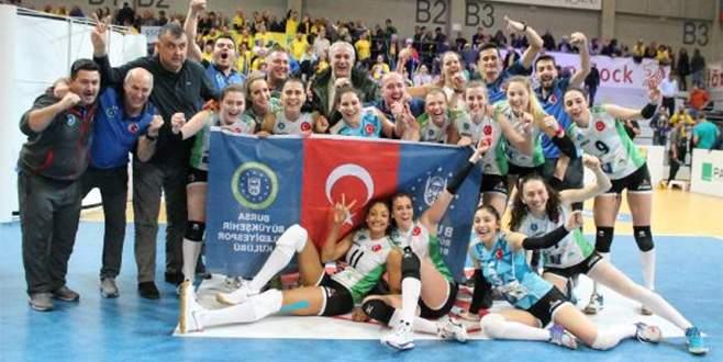 CEV Challenge Cup'ta Bursa'da rövanş heyecanı