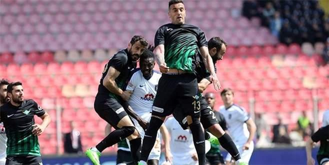 Başakşehir'e Akhisar şoku: 2-1