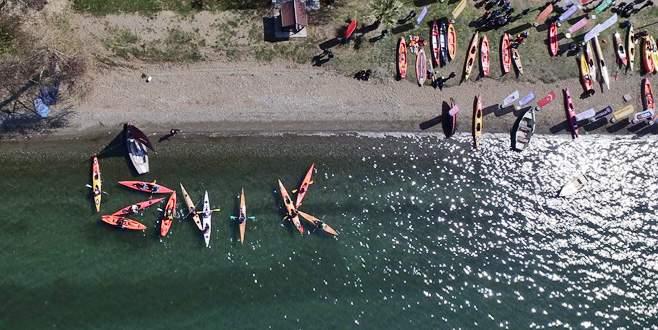 İznik'te kano festivali sona erdi