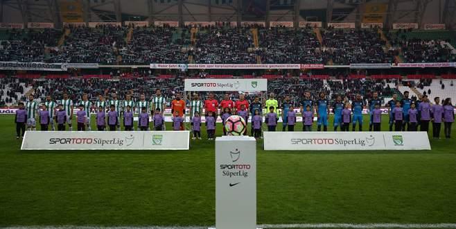 A. Konyaspor – Bursaspor maçından kareler