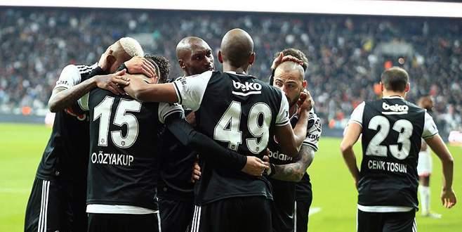 Beşiktaş rahat kazandı: 3-0