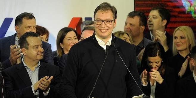 Sırbistan'ın yeni cumhurbaşkanı Vucic