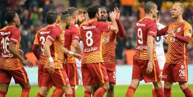 Galatasaray'dan farklı galibiyet: 4-0