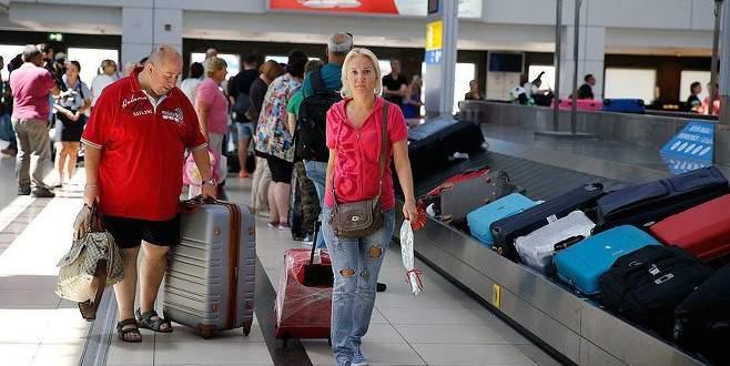 Antalya'ya gelen Rus yolcu sayısı yüzde 816 arttı