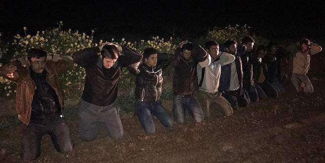 Eylem hazırlığındaki Çeçen uyruklu sınırda yakalandı