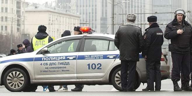 Rusya'da iki polis memuru öldürüldü