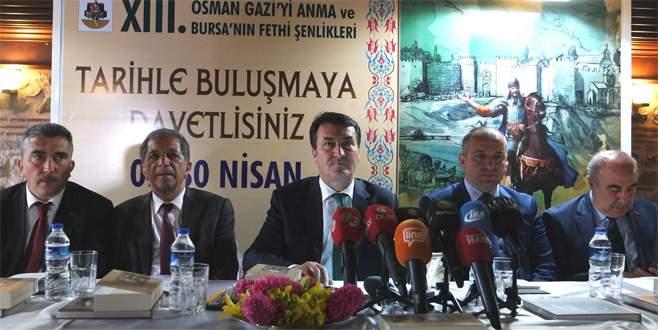 Bursa'da fetih şenliklerine Diriliş damgası