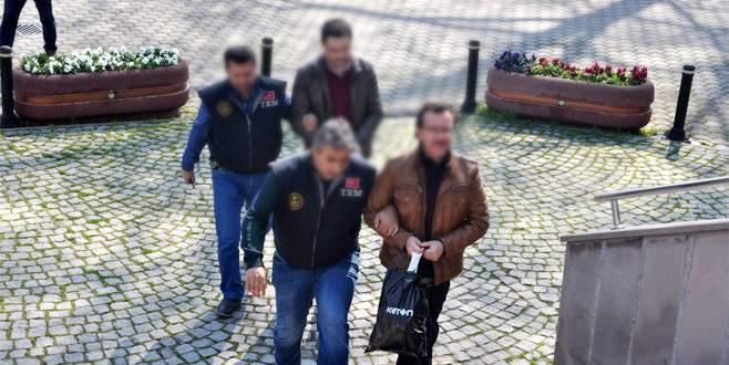 Bursa'da FETÖ operasyonunda 5 gözaltı