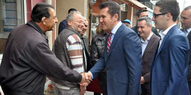 Sarıgül, Karacabey'de vatandaşlarla buluştu