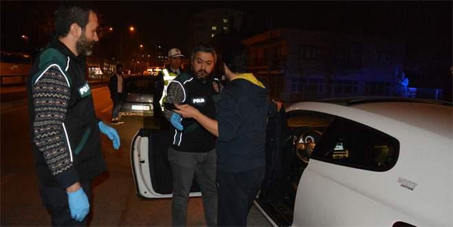 Bursa'da 900 polisle huzur operasyonu