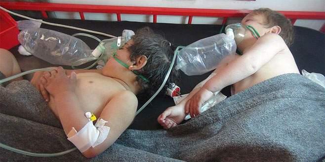 'İdlib'de sarin gazı kullanıldı'
