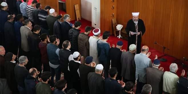 Bursa'da İblid'de öldürülen siviller için gıyabi cenaze namazı