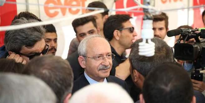 Kılıçdaroğlu'ndan 'Evet Çadırı'na iade-i ziyaret