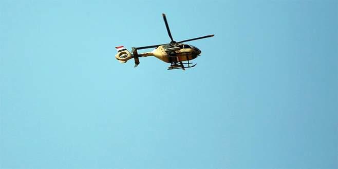 Musul'da askeri helikopter düştü