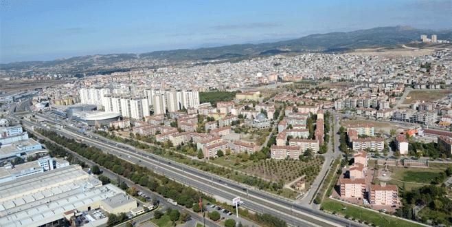 Bursa'da konut ve kiraya 'dönüşüm' zammı