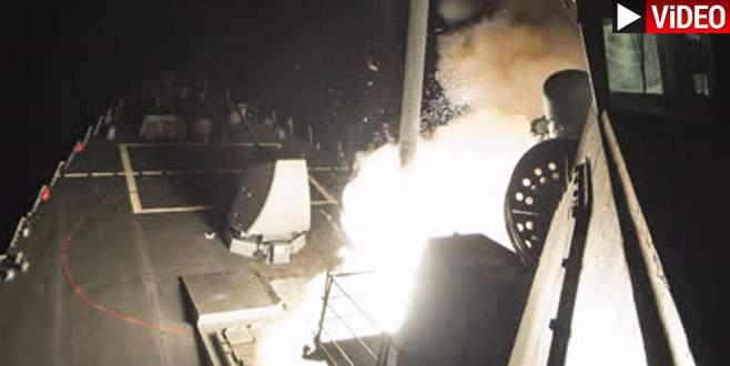 İşte füzelerin fırlatılış anı