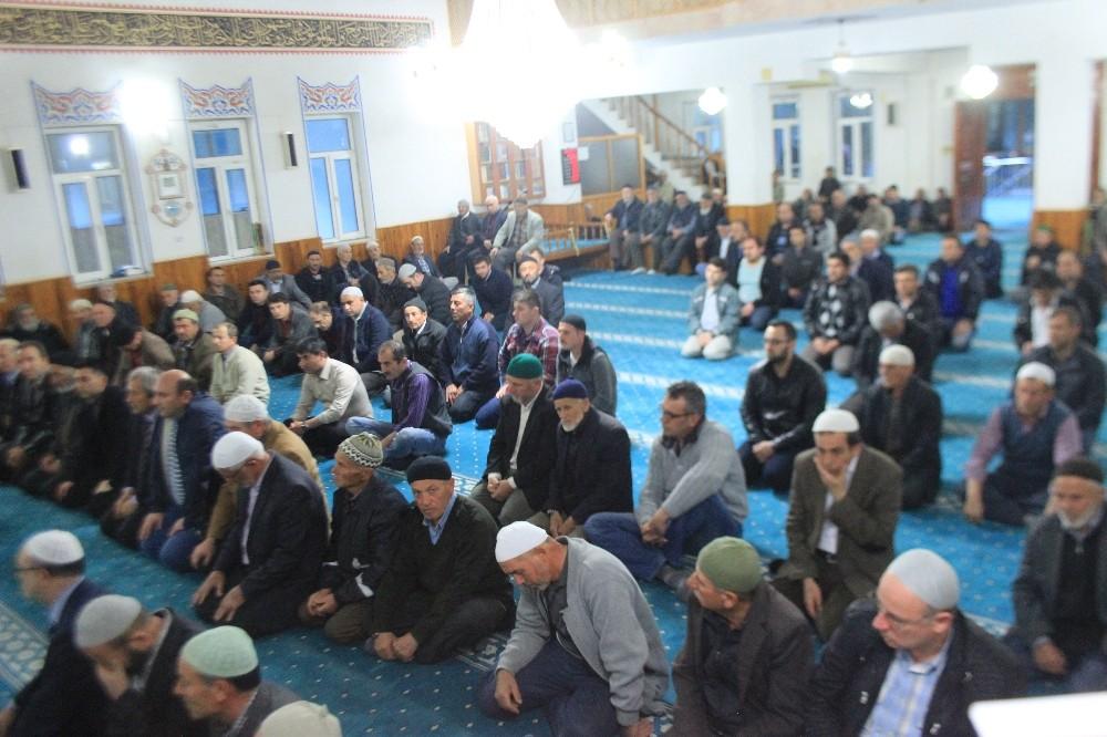 Osmaneli'de şehit polisler için mevlit okutuldu