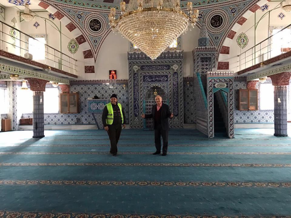 Özalp Belediyesinden okul ve cami temizliği