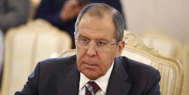 Lavrov ABD'ye ateş püskürdü: 'Irak'ın işgalini anımsatıyor'