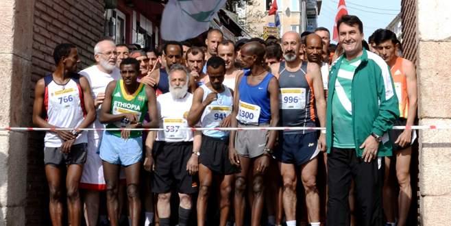 Tarihi koşuya büyük onur!