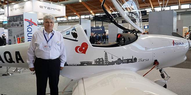 Türk kartalı yüksekten uçacak
