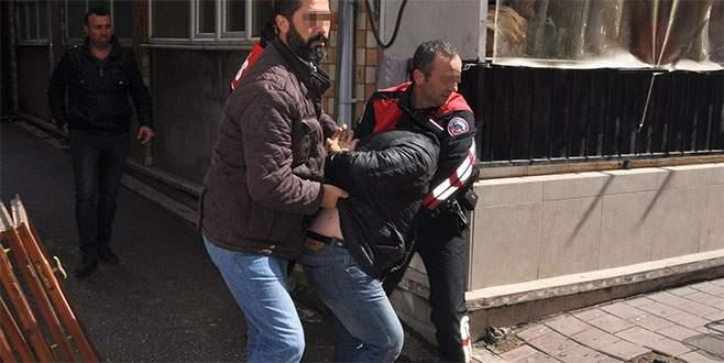 Bursa'da pompalı dehşeti