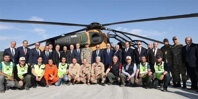 TSK 20'nci ATAK helikopterine kavuştu
